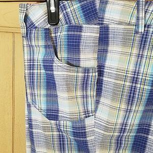 Avenue Shorts - Avenue Perfect Plaide Bermuda shorts